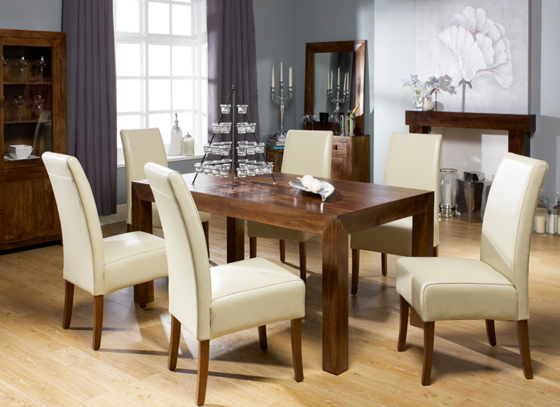 Terrific Mango Wood Dining Table And Chairs Dakota Dining Sets Download Free Architecture Designs Rallybritishbridgeorg
