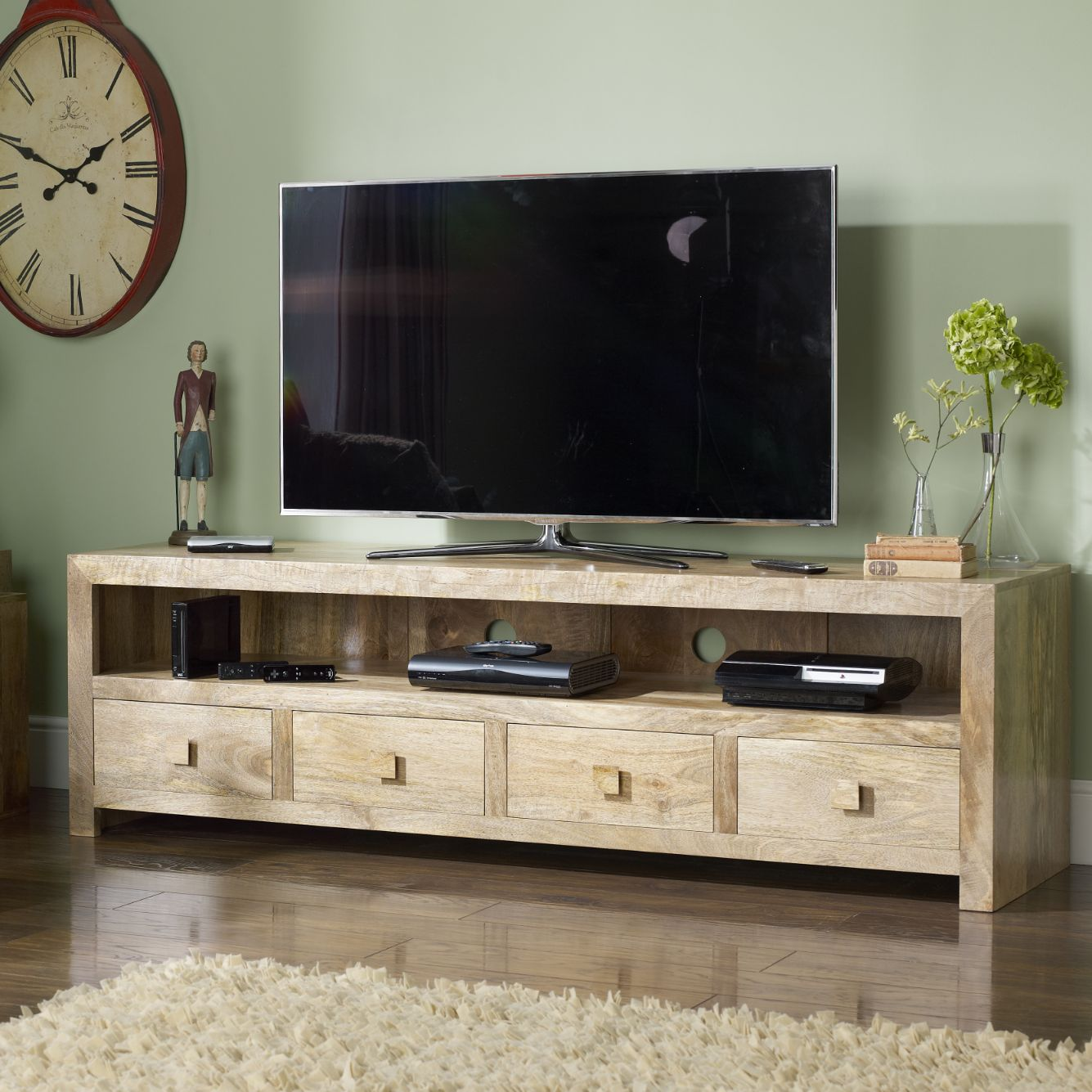 big sale c9074 499df Mango Wood TV Units | Sheesham Corner TV Stands | Dakota TV ...
