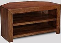 Dakota 2 Shelf Corner TV Unit