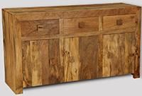 Light Dakota 3 Cupboard Sideboard