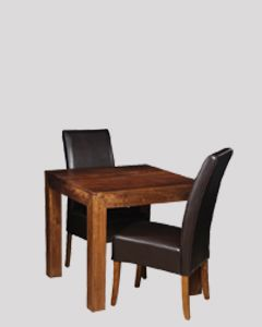 Extra Small Dakota Dining Table & 2 Madrid Chairs