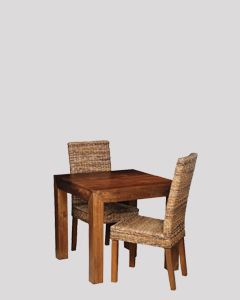 Extra Small Dakota Dining Table & 2 Havana Chairs