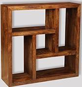 Dakota Square Bookcase