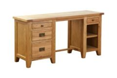 Atlanta Double Pedestal Desk