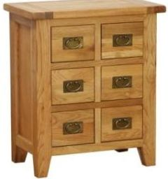 Atlanta 6 Drawer CD / DVD Cabinet