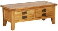 Atlanta Medium 2 Drawer Coffee Table