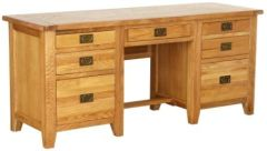 Atlanta Twin Pedestal Desk