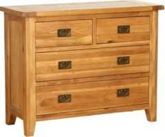 Atlanta 4 (2+2) Drawer Dresser Chest