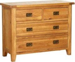 Atlanta 4 (2+2) Drawer Dresser Chest