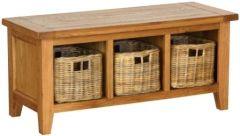 Atlanta Storage Bench with Basket Drawers