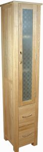 Mobel Oak Tall Bathroom Unit