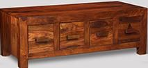 Cuba 4 Drawer Coffee Table