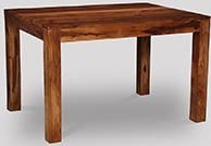 Cube Honey Small Dining Table