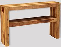 Cube Light Console Table