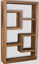 Cube Natural Bookcase
