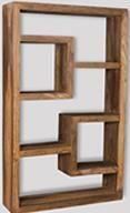 Cuba Natural Bookcase
