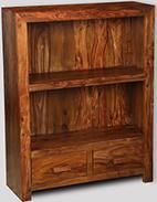 Cuba 2 Drawer Bookcase