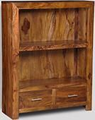 Cube Honey 2 Drawer Bookcase