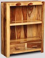 Cuba Light 2 Drawer Bookcase