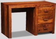 Cuba 3 Drawer Desk