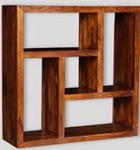 Cuba Square Bookcase