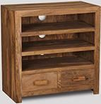 Cuba Natural 3 Shelf Media Unit