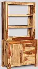 Cube Light Small Multi-Shelf Dresser