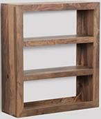 Natural Cuba Shelf Unit
