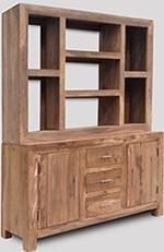 Cube Natural Large Multi-Shelf Dresser