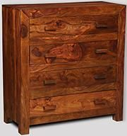 Cuba 4 Drawer Chest