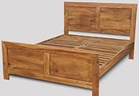 Cuba Natural Double Bed