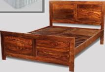 Cuba King Size Bed with Mattress