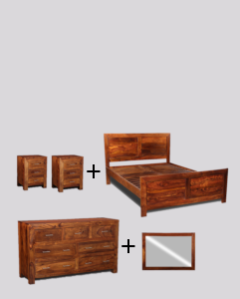 Large Double Cube Bedroom Package