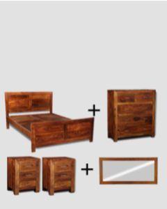 Medium Super King Size Cube Bedroom Package