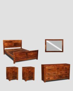 Large King Size Cuba Bedroom Package