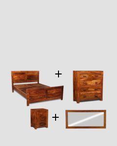 King Size Cuba Bedroom Package