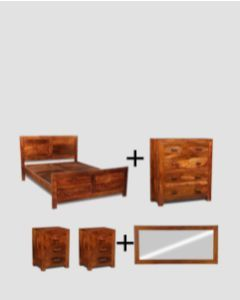 Medium King Size Cuba Bedroom Package