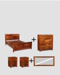 Medium Super King Size Cuba Bedroom Package