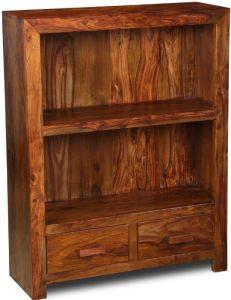 Cuba 2 Drawer Bookcase
