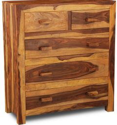 Cuba Light Large Chest of Drawers