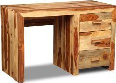 Cuba Light 3 Drawer Desk