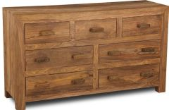 Cuba Natural 7 Drawer Chest