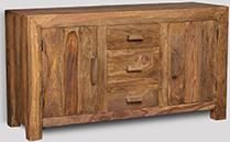 Cuba Natural Large Sideboard