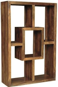 Cube Natural Large Square Bookcase