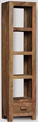 Cuba Natural Slim Jim Bookcase