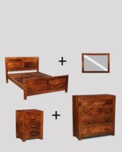 Small Double Cuba Bedroom Package
