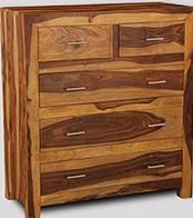 Cube Light Large Chest of Drawers