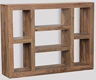 Natural Large Cuba Shelf Unit