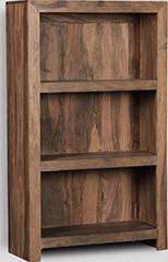 Natural Cuba 3 Shelf Bookcase
