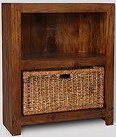 Dakota Small Shelves With Havana Basket